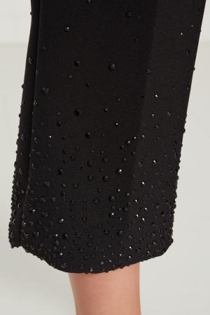 Черные брюки со стрелками Alexandr Rogov. Цвет: черный