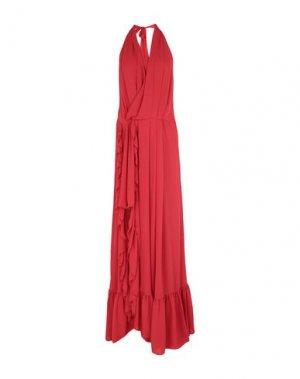Длинное платье BABYLON. Цвет: красный