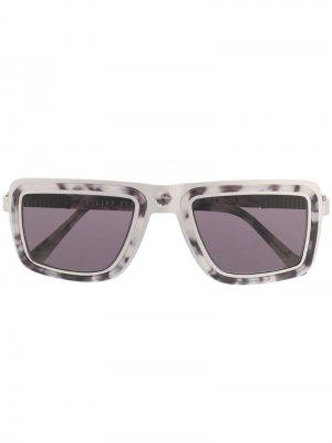 Солнцезащитные очки с мраморным эффектом Philipp Plein