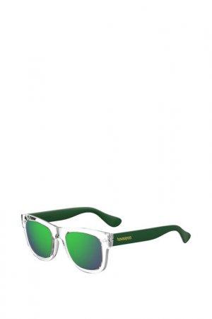 Солнцезащитные очки Havaianas. Цвет: прозрачный