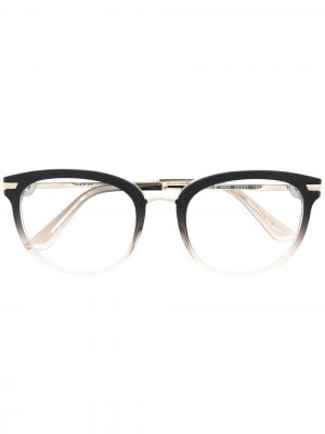 Очки с эффектом градиента Bvlgari. Цвет: черный