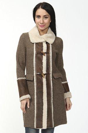 Пальто Benedetta Novi. Цвет: коричневый