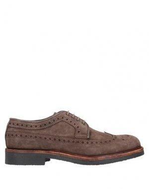 Обувь на шнурках CORVARI. Цвет: светло-коричневый