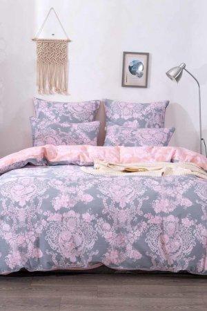 КПБ семейный Архелия Sofi De Marko. Цвет: серый, розовый