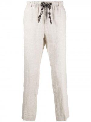 Прямые брюки Grey Daniele Alessandrini. Цвет: нейтральные цвета