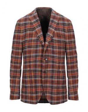 Пиджак ETRO. Цвет: коричневый