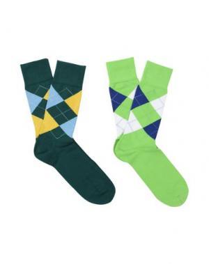 Короткие носки BURLINGTON. Цвет: темно-зеленый