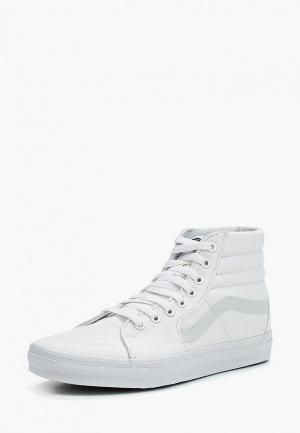 Кеды Vans UA SK8-HI. Цвет: белый