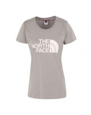 Футболка THE NORTH FACE. Цвет: серый