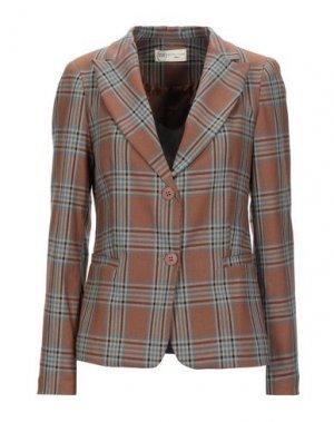 Пиджак BSB. Цвет: коричневый