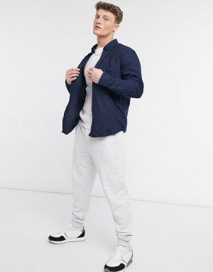 Мягкая фланелевая рубашка -Голубой Ben Sherman