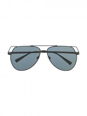 Солнцезащитные очки-авиаторы Telma The Attico. Цвет: черный
