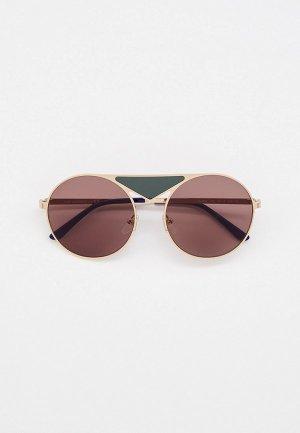 Очки солнцезащитные Karl Lagerfeld KL 310S 709. Цвет: золотой
