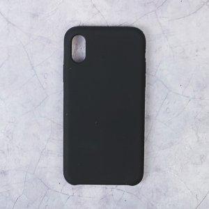 Чехол luazon силиконовый iphone x, чёрный Home