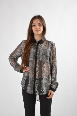 Блуза Brave Soul. Цвет: серый