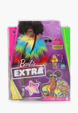 Кукла Barbie Barbie® Экстра - в радужном пальто. Цвет: разноцветный