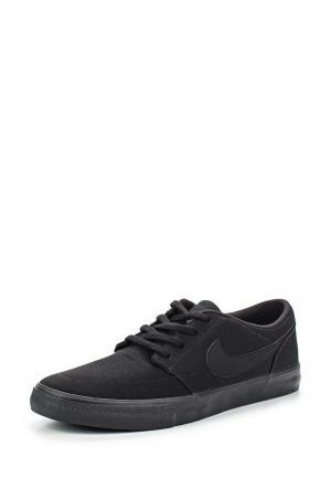 Кеды Nike Mens SB Solarsoft Portmore II Skateboarding Shoe. Цвет: черный