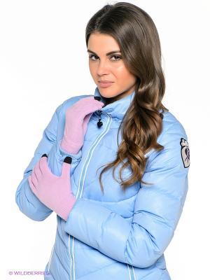 Перчатки BREKKA. Цвет: розовый