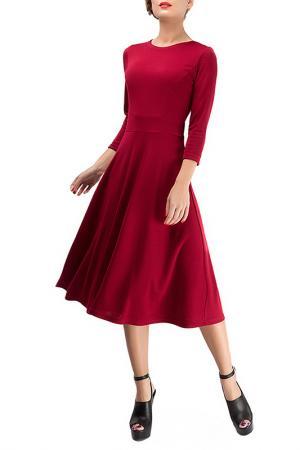 Платье LEBBEL. Цвет: бордовый