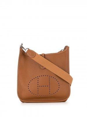 Сумка на плечо Evelyne PM 2000-го года Hermès. Цвет: коричневый