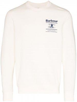Толстовка Reed с логотипом Barbour. Цвет: нейтральные цвета