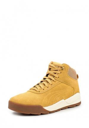 Кроссовки PUMA Desierto Sneaker. Цвет: коричневый