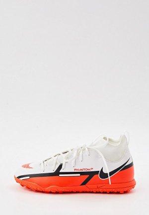 Шиповки Nike JR PHANTOM GT2 CLUB DF TF. Цвет: оранжевый