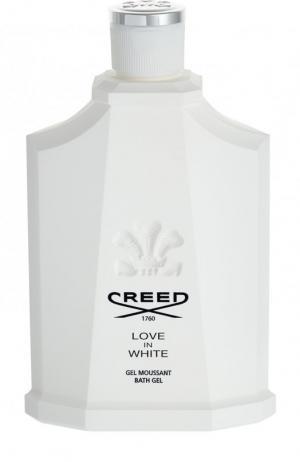 Гель для душа Love In White Creed. Цвет: бесцветный