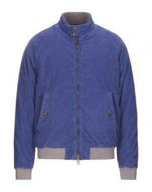 Куртка BARACUTA. Цвет: лазурный