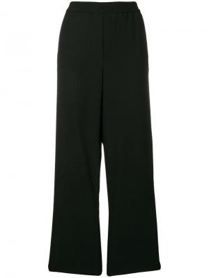 Широкие спортивные брюки 8pm. Цвет: черный