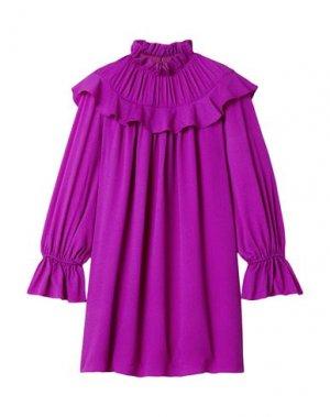 Короткое платье ARIAS. Цвет: пурпурный