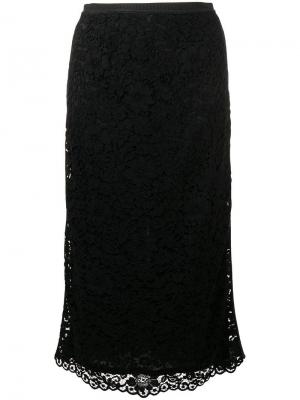 Layered floral skirt Antonio Marras. Цвет: черный