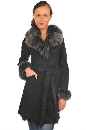 Пальто Arturo. Цвет: черный