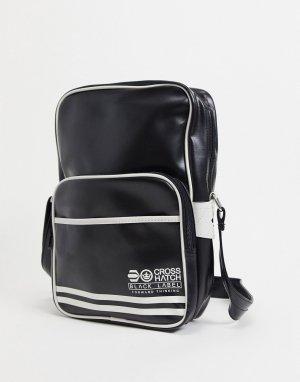 Дорожная сумка -Черный цвет Crosshatch