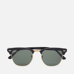 Солнцезащитные очки Clubmaster Ray-Ban. Цвет: чёрный