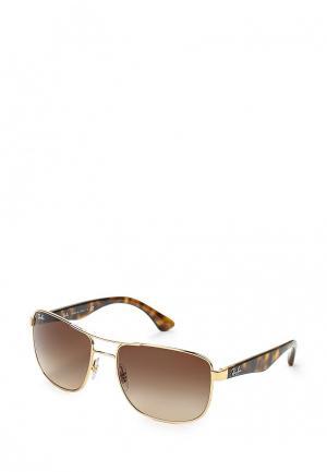 Очки солнцезащитные Ray-Ban® RB3533 001/13. Цвет: золотой