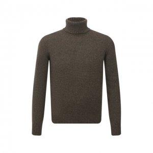 Кашемировый свитер Ralph Lauren. Цвет: хаки