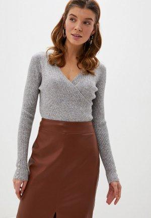 Пуловер Блисс. Цвет: серый