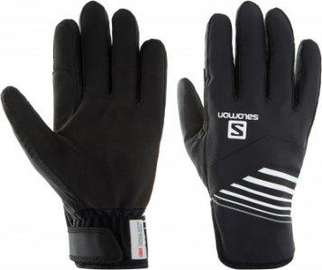 Перчатки RS Warm Glove, размер 8 Salomon. Цвет: черный