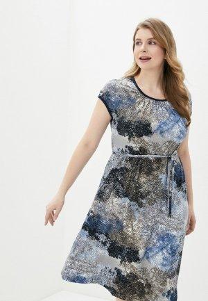 Платье Агапэ. Цвет: разноцветный