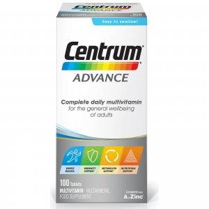 Поливитамины Advance Multivitamin Tablets - (100 таблеток) Centrum