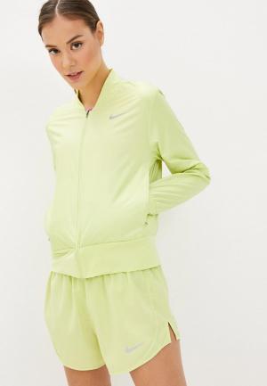 Майка спортивная Nike W NK MILER TANK. Цвет: розовый