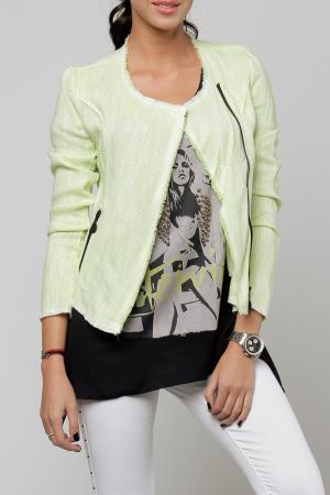 Пиджак Cocogio. Цвет: зеленый