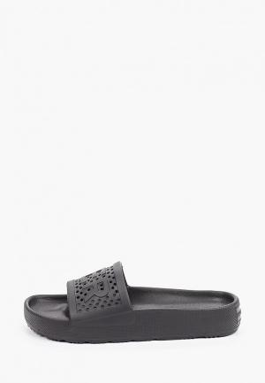 Сланцы Hunter WOMENS ORIGINAL LIGHTWEIGHT MOULDED SLIDE. Цвет: черный