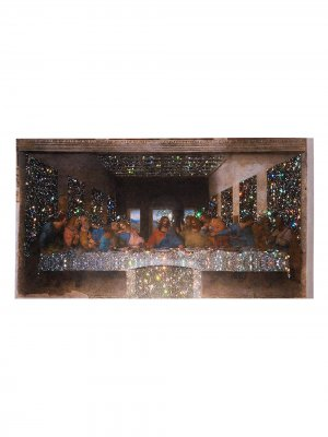 Постер Crystal Last Supper A2 Browns X Sara Shakeel. Цвет: нейтральные цвета