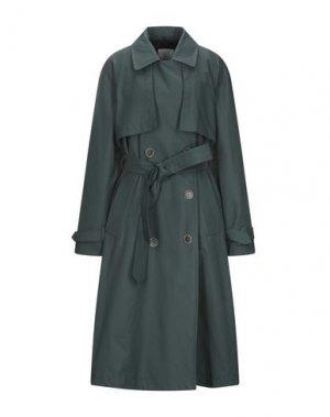 Легкое пальто GLOVERALL. Цвет: темно-зеленый