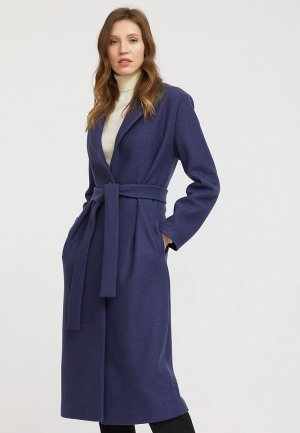 Пальто Charuel. Цвет: синий