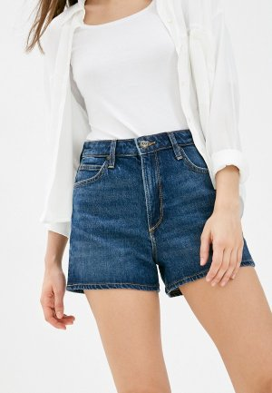 Шорты джинсовые Lee Carol. Цвет: синий