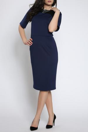 Платье Collezione di Ines. Цвет: синий