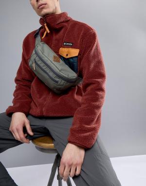 Зеленая сумка-кошелек на пояс Columbia. Цвет: зеленый